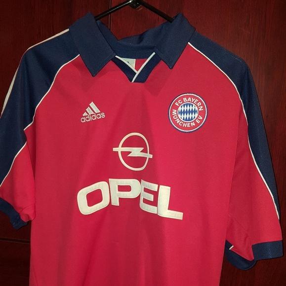 FC Bayern Munich '99 01 soccer Jersey by Adidas